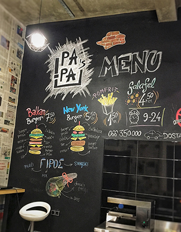 PAPA's Gyros & Burger Banja Luka