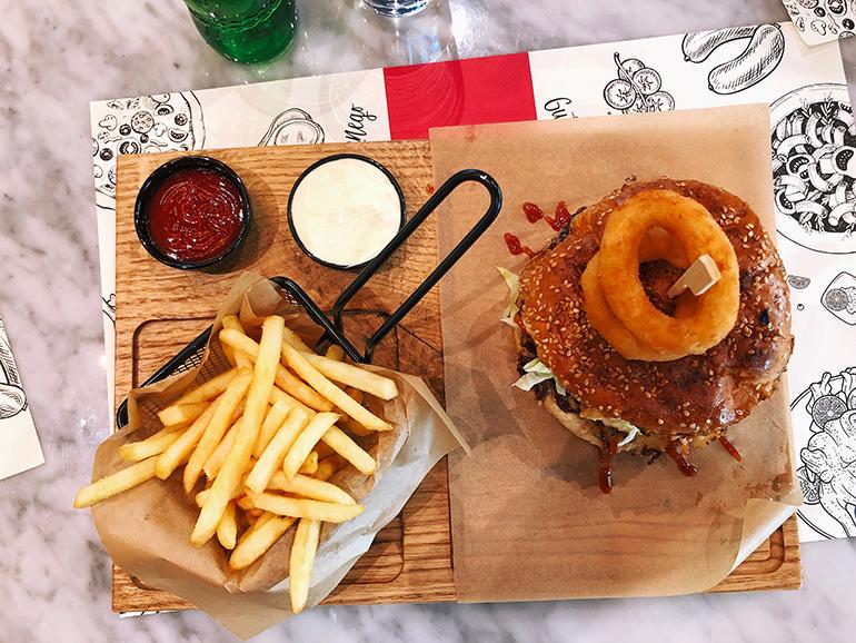Italian Job Burger - Restoran Don Sergio Banja Luka