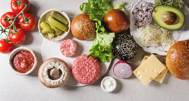 Sistem ocenjivanja - Sastojci burgera