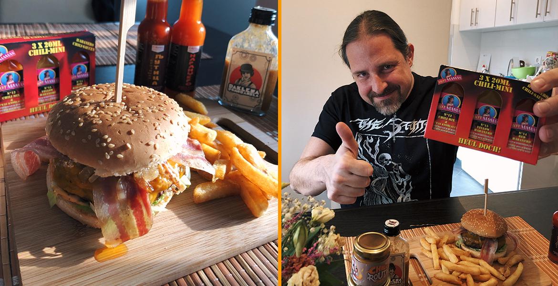 BL Beast BurgerMania Burger Korona virus