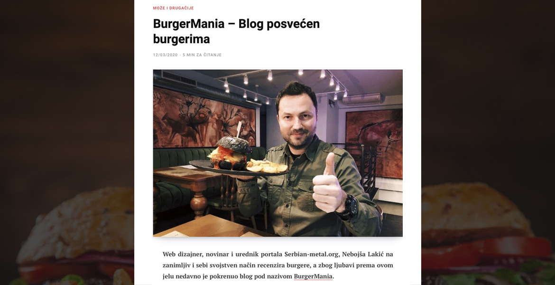 BurgerMania - eTrafika - Nebojša Lakić