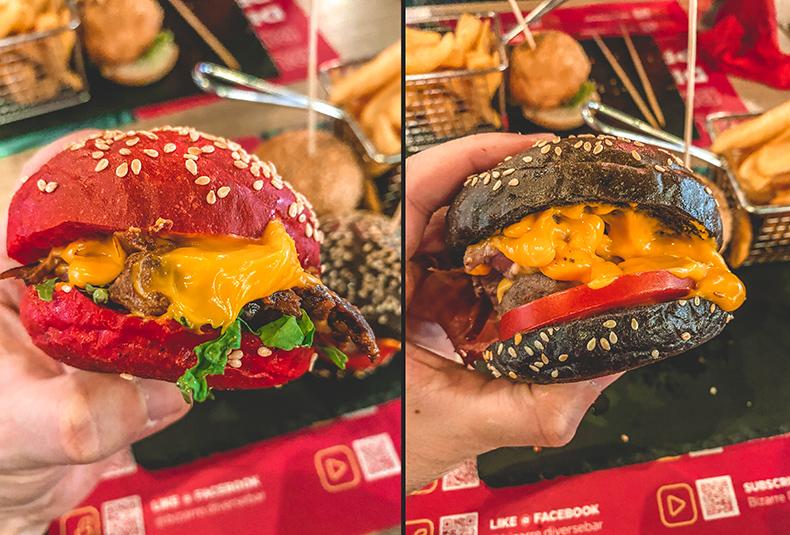 Burger Tris - Bizarre Bar, Banja Luka