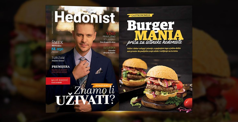 Hedonist Magazin - BurgerMania