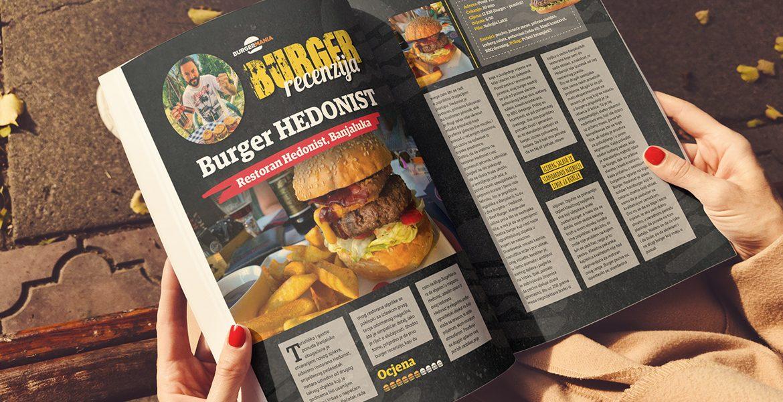 BurgerMania Magazin Hedonist