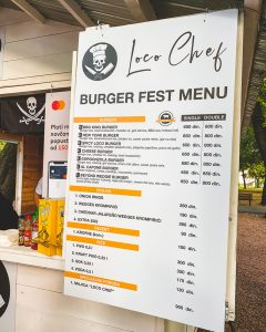 Loco Chef, Beogradski Burger Festival